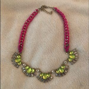 Jewelry - Pink and Green necklace